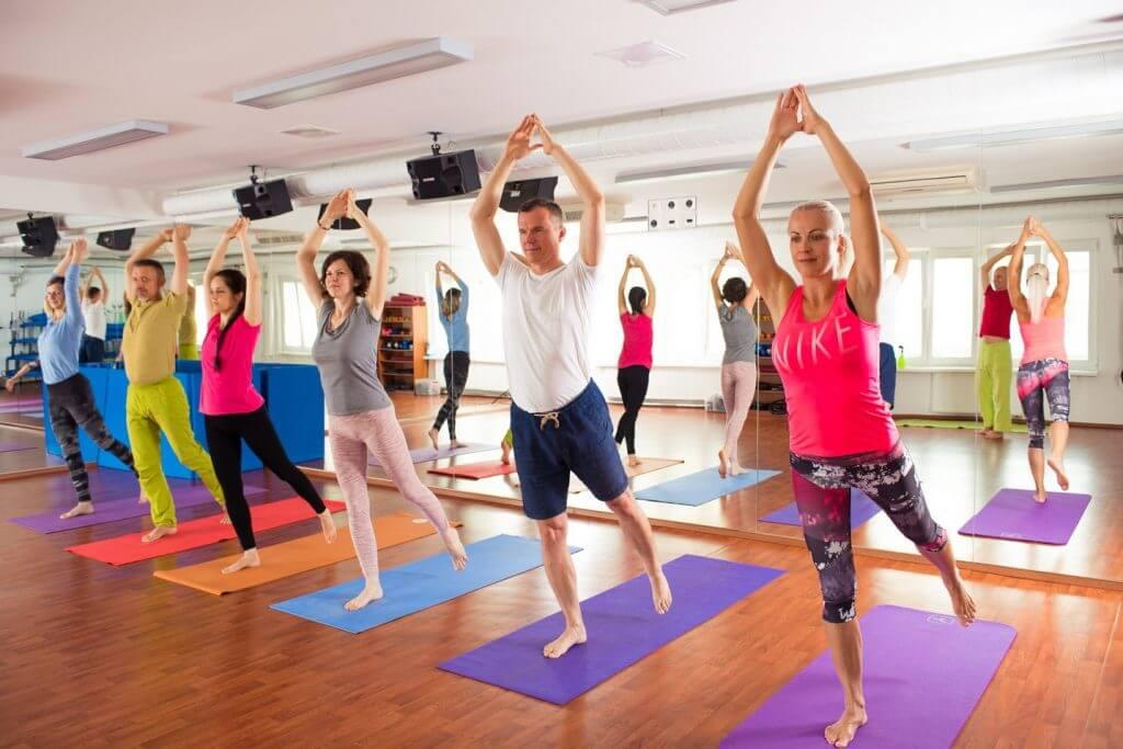 Lekcie jogy pre zamestnancov