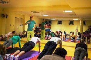 Kurz jogy v judohale Pezinok